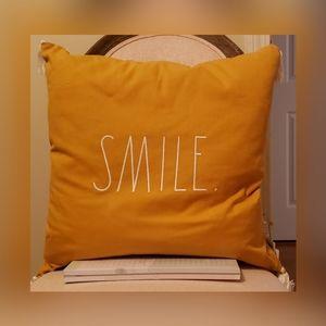 Rae Dunn Smile pillow